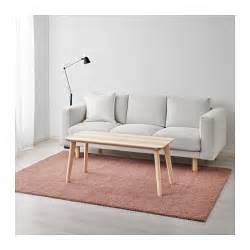 197 dum rug high pile light brown pink 170x240 cm ikea