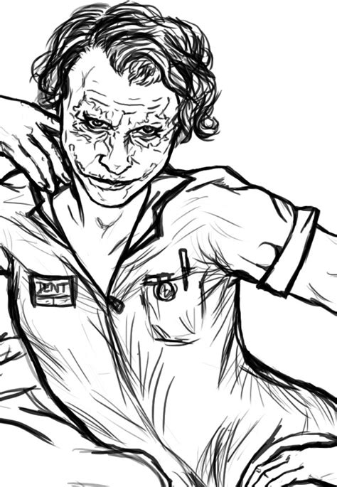 joker suicide squad coloring pages coloring pages