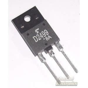 horizontal output transistor driver 2sd2499 horizontal deflection output for color tv