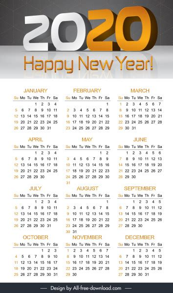 calendar template modern  decor  vector  adobe illustrator ai ai format