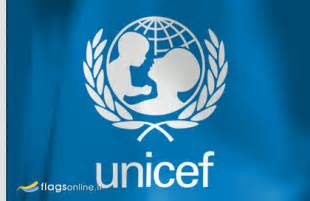 Flagsonline it logo will not be present on the real flag of unicef