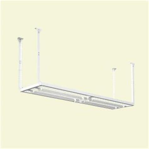Home Depot Garage Ceiling Storage by Hyloft 96 In W X 24 In D Adjustable Height Garage