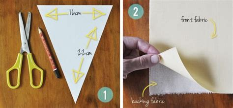 How To Make Bunting With Paper - best 10 bunting flags ideas on bunting