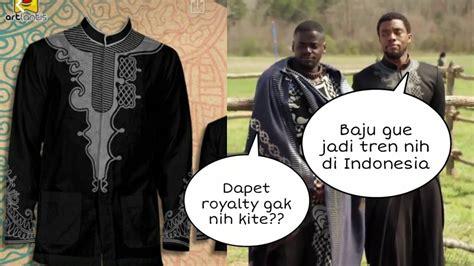 Baju Koko Anak Black Panther viral jaman now baju koko black panther quot laris manis quot diburu netizen ternyata harganya