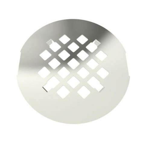 brasstech 4 1 4 in shower drain cover in polished nickel