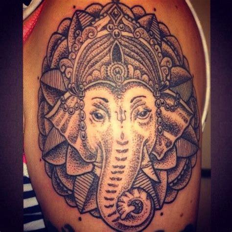buddha elephant tattoo dotwork ganesh ganesh tattooing tattooist