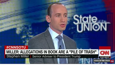 stephen miller yesterday yesterday stephen miller was escorted from cnn building