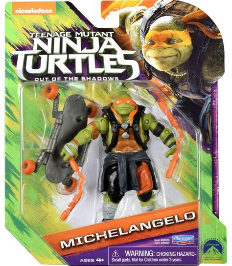 Figures Out Of mutant turtles out of the shadows