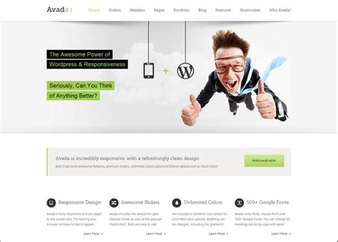 themes similar to avada 55 cool professional wordpress themes