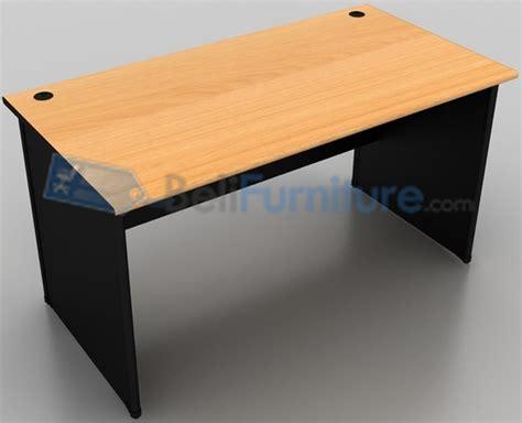 Meja Untuk Kerja uno classic meja kantor 140 cm murah bergaransi dan lengkap belifurniture