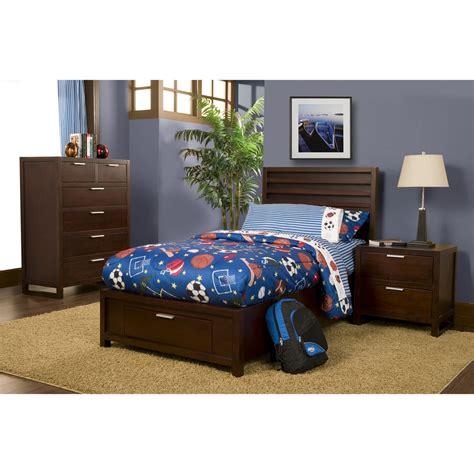 Bunk Beds Ta Camarillo Storage Platform Bed Merlot Dcg Stores