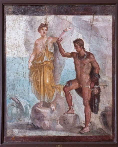 perseus house naples national archaeological museum perseus and andromeda from the house of the