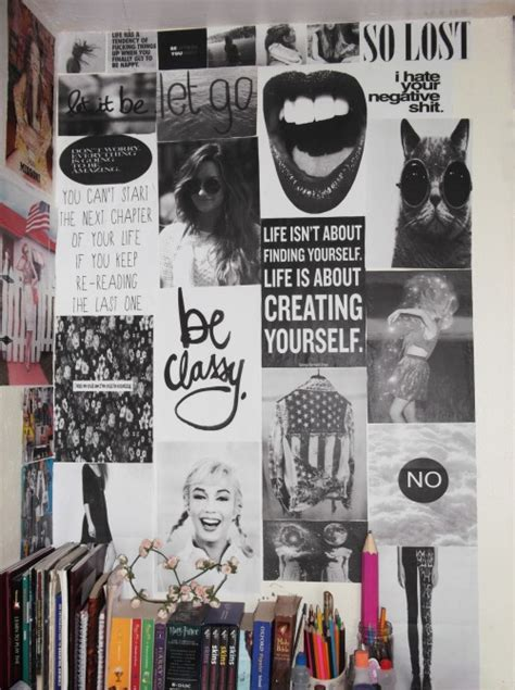 wall art collage wall collage tumblr
