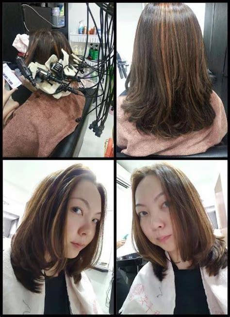 rebond c curl images winn s home salon straightened hair perm hair color hair