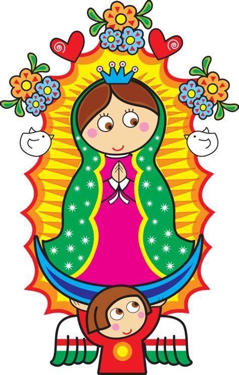imagenes catolicas en caricatura virgen de guadalupe distroller png imagui pinteres