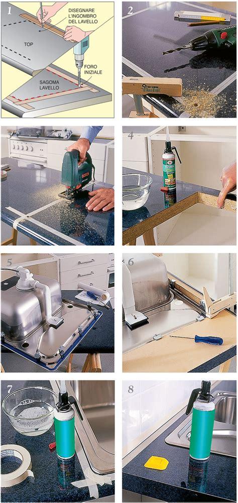montaggio rubinetto lavello installazione lavello cucina bricoportale fai da te e