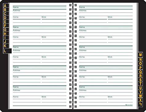 address book large print address book 8 5 x 11 size alphabetical with 300 spaces for names phone numbers addresses emails birthdays and more books at a glance address book