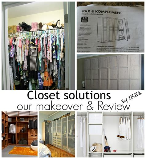 Secure Wardrobe To Wall by Closet Solutions And A Makeover From Ikea Debbiedoos