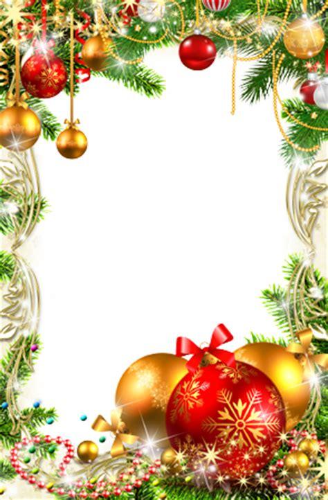 cornice natalizia photoshop cornici foto decorazioni di natale