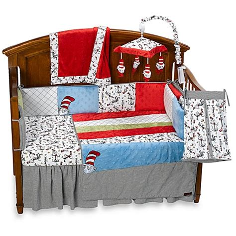Cat In The Hat Crib Bedding Set Trend Lab 174 Dr Seuss Cat In The Hat 4 Crib Bedding Set And Accessories Bed Bath Beyond