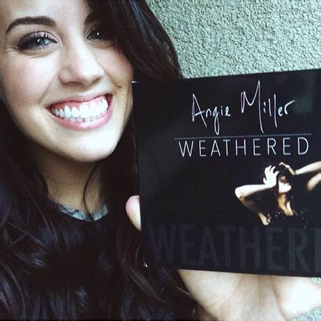 angie miller weathered american idol s angie miller talks new record weathered