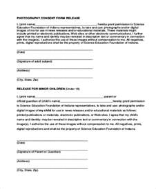 photo release consent form template sle photography release form 10 free documents in