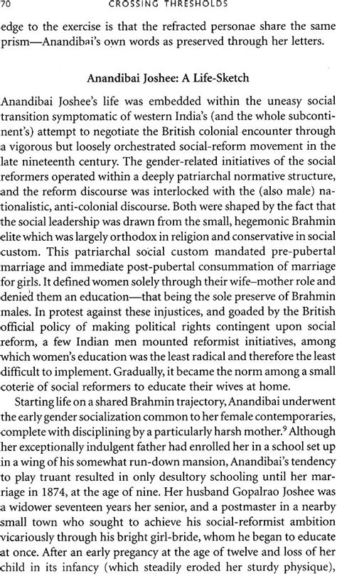 Feminist Essays by Crossing Thresholds Feminist Essays In Social History