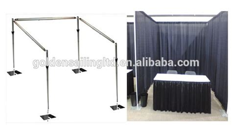 portable pipe and drape systems ceiling drape portable pipe and drape kits for hall