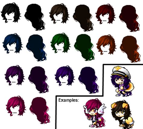 maplestory custom faces maplestory custom hair x3 by ai nekochan on deviantart