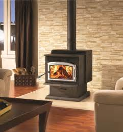 Free Standing Wood Burning Fireplaces » Ideas Home Design