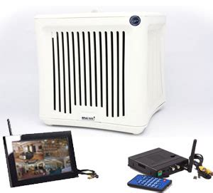 4 in 1 wireless air purifier remote view system