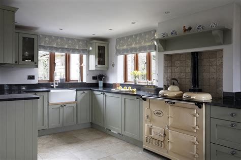 oak and french grey kitchen bespoke design by peter cosy country kitchen bath kitchen company