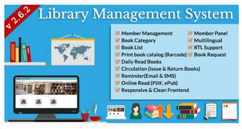 use template for library management system free web template library