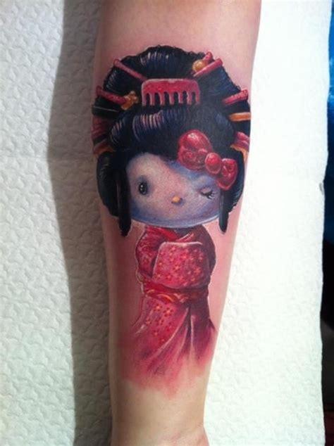 geisha doll tattoo meaning 25 striking geisha tattoos designs