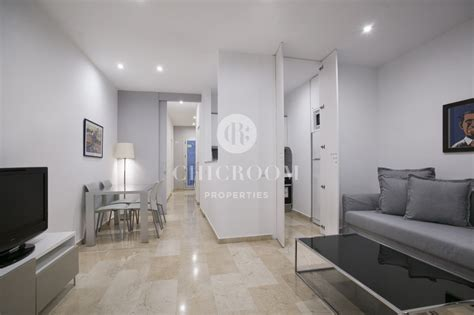 furnished luxury apartment  rent  el born barcelona