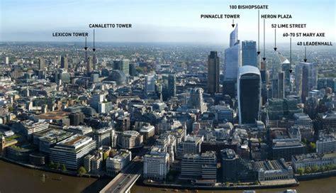 London Skyline Wall Sticker new buildings in london thraam com