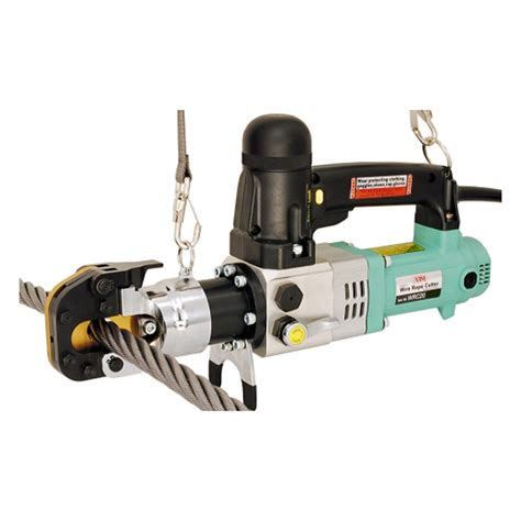 electric wire cutters electric wire rope cutter 3 4 inch arm sangyo wire