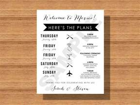 wedding welcome bag itinerary template wedding itinerary template 40 free word pdf documents