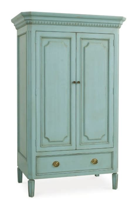 Robins Egg Blue Dresser by Swedish Armoire Coachbarn In Robins Egg Blue