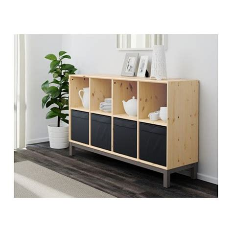 nornas sideboard hack norn 196 s sideboard basic unit pine gray pine gray ikea