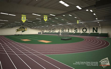 sanford track shelly ellig track and field facility facilities management ndsu