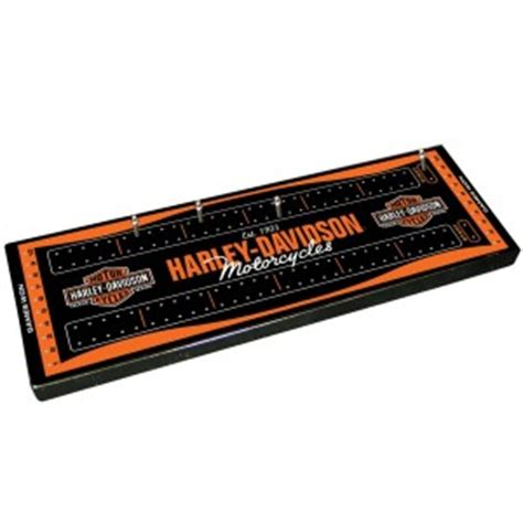 Crib Boards For Sale by Harley Davidson Cribbage Boards