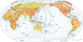 Australia Map Of The World by Australia Map Of The World