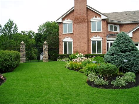 House Landscape by Landscaping Planning Rainbowlandscaping S Weblog