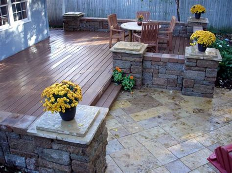 Wood Pavers For Patio 25 Best Ideas About Deck On Pinterest Pit For Deck Patio Steps And Stones For Garden