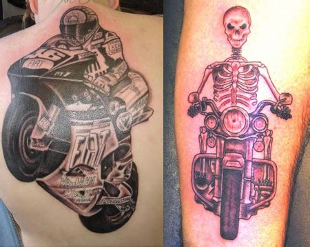 motorcycle tattoos ideas designs amp pictures tattoo me now