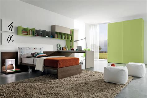 modern contemporary and bedroom decorating