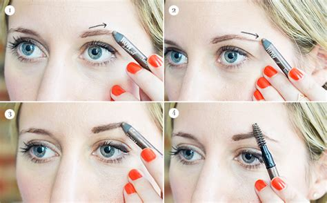 tutorial natural eyebrows eyebrow tutorial for thin or sparse brows advice from a