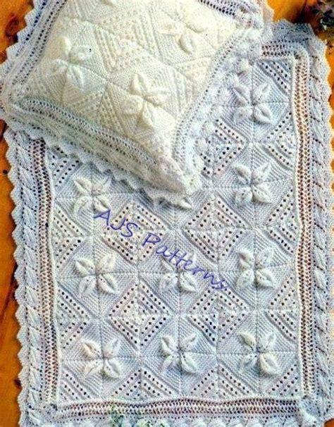 leaf pattern baby blanket free pdf knitting pattern for a baby blanket pillowcase