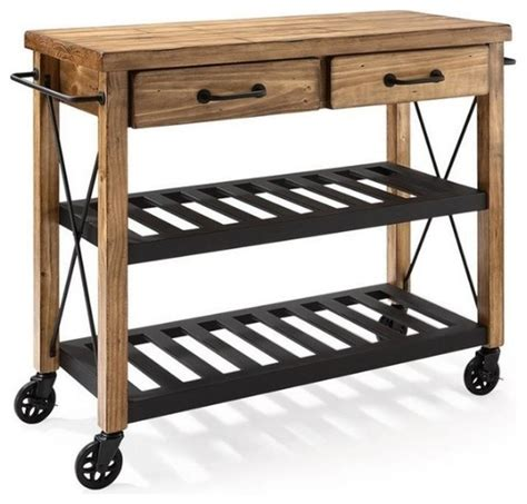 rustic kitchen islands and carts roots rack industrial kitchen cart rustic kitchen